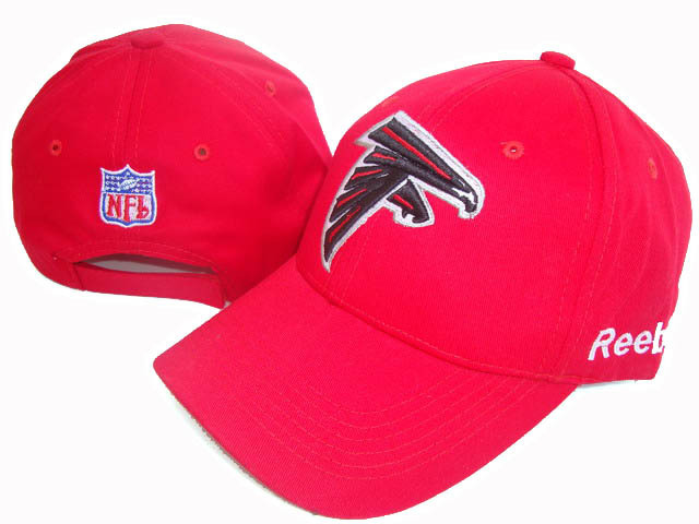 Atlanta Falcons Red Peaked Cap DF 0512